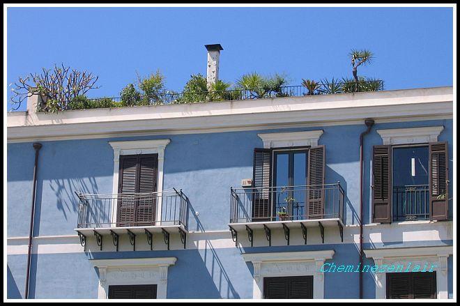 cheminée de jardin en terrasse